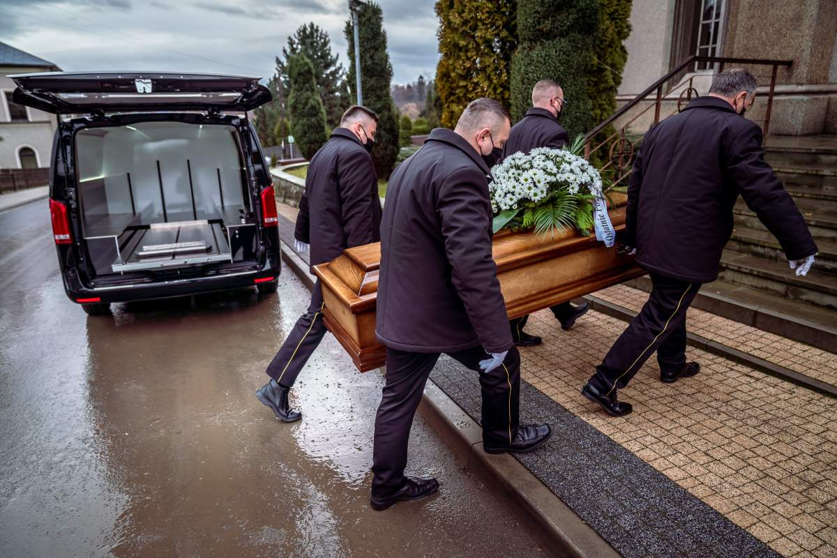 pogrzeby z trumną